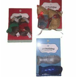 Petholiday Collection Lot Of 3 Cat Toys
